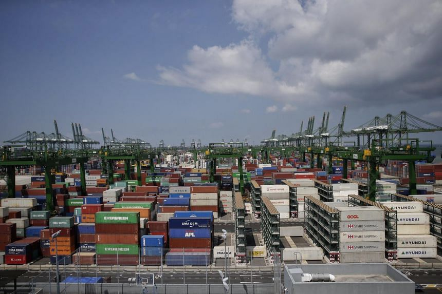 Non-oil domestic exports to the Singapore's top markets mostly increased, other than for China and Hong Kong.