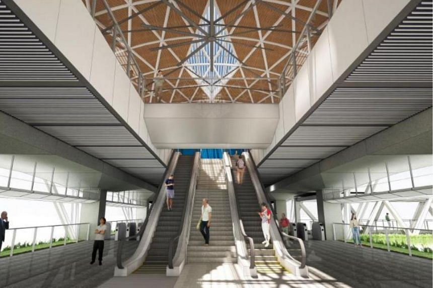 The contract covers the construction of Tengah Plantation, Tengah Park and Bukit Batok West stations and viaducts spanning 2.3km.