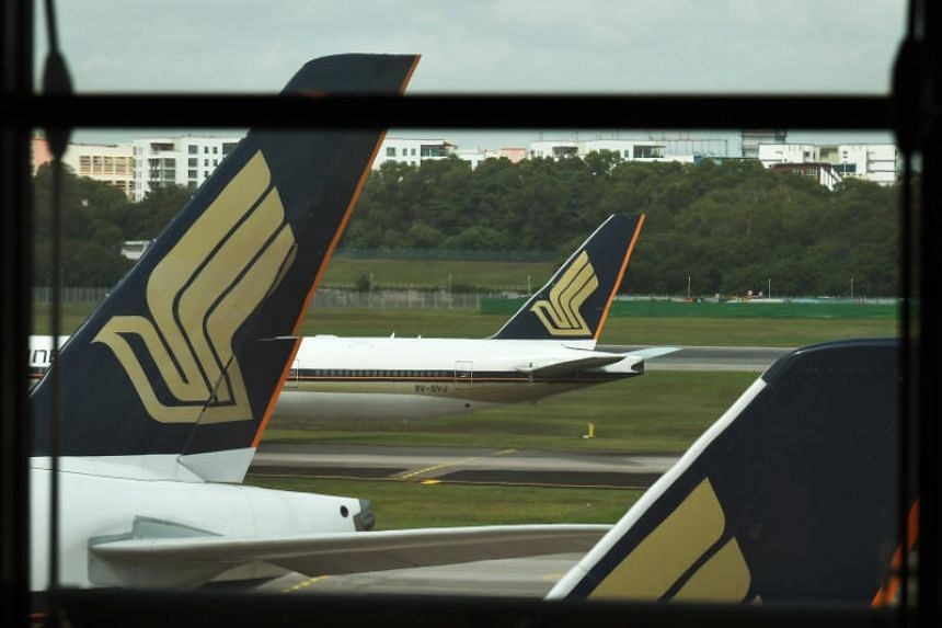Singapore Airlines said, without giving details, that it is actively taking steps to build up its liquidity.
