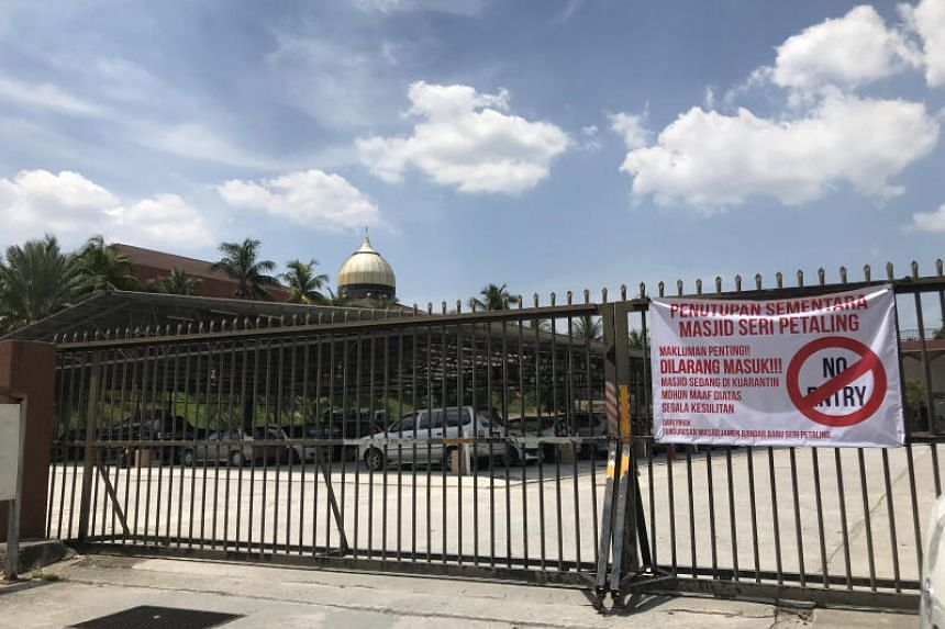 The large mosque complex has been closed to the public since March 12, 2020, for disinfecting work.