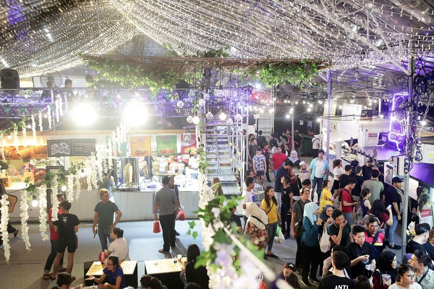 A photo taken on May 7, 2019, showing the Geylang Serai Ramadan Bazaar. The popular and iconic Geylang Serai bazaar will be cancelled in the light of the coronavirus situation this year.