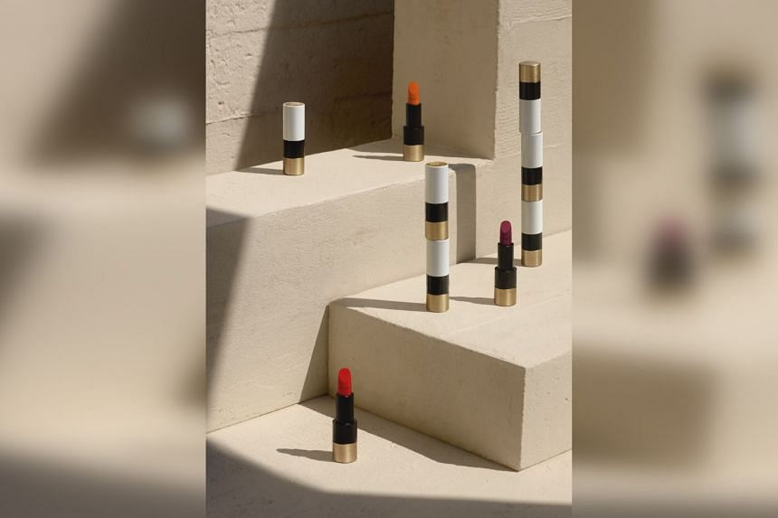 Hermes Beauty debuted with a line of sleek $103 lipsticks in 24 shades.