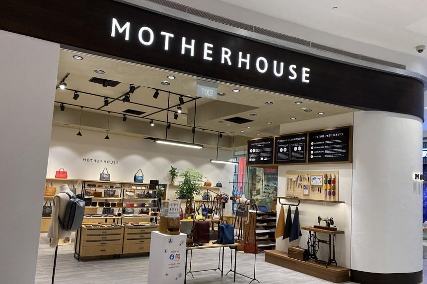 Japanese label Motherhouse's store at Suntec City.