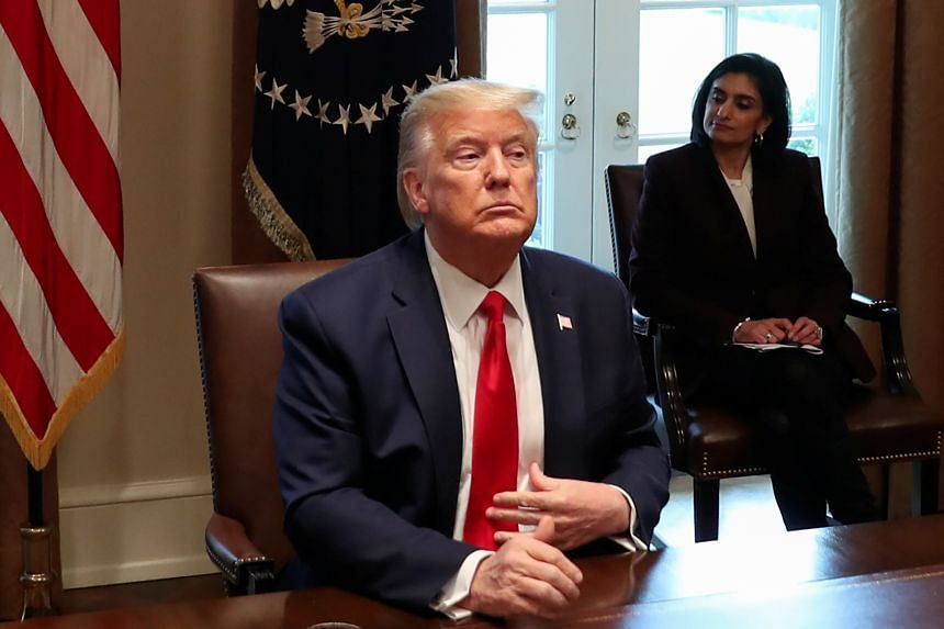 """Asked at a daily press briefing on the Covid-19 crisis about his increasingly frequent and emphatic use of the term """"Chinese virus"""", US President Donald Trump said he did not think it was at all racist."""