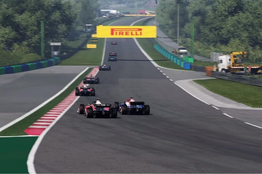 The first, run on the official F1 2019 PC video game, will be held from 4am, March 23, 2020.