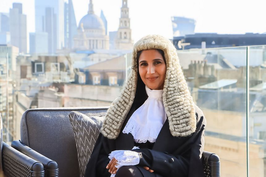 Ms Sapna Jhangiani, a partner at law firm Clyde & Co Clasis Singapore, formally became a silk, or Queen's Counsel, on Monday at a ceremony before England's Lord Chancellor at Westminster Hall in London. She is a British national and a Singapore perma
