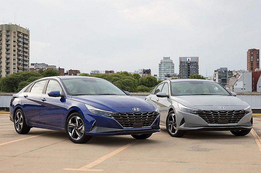 New Hyundai Avante expected in last quarter.