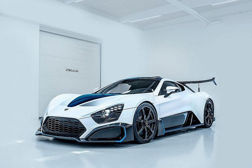 Apex AP-0 electric concept is fast and lightZenvo hits 100kmh in 2.8 seconds.