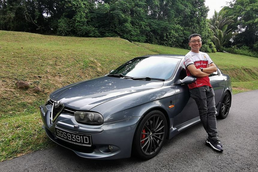 Mr Oh Kim Leong has driven the Alfa Romeo 156 GTA Selespeed to Sepang for a track day and drives the car once or twice a week.