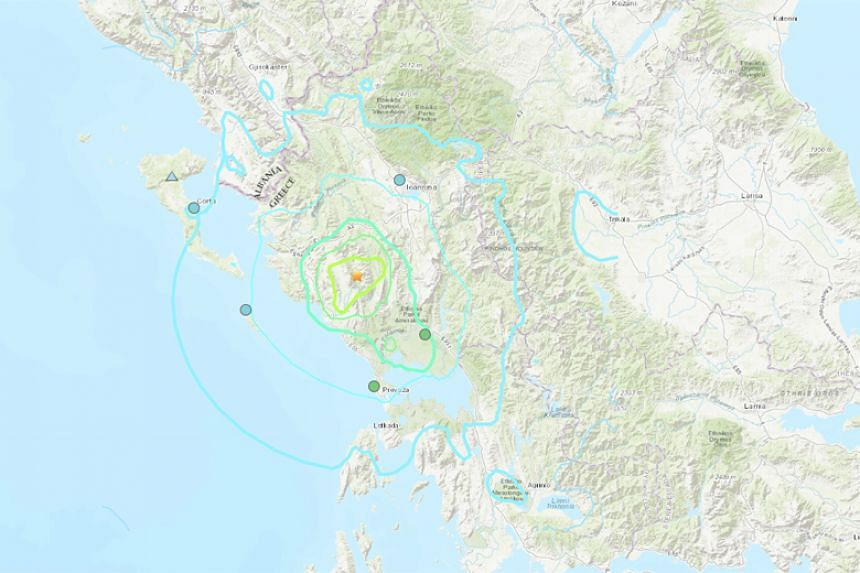 Greece lies on major faultlines and is regularly hit by earthquakes, but they rarely cause casualties.