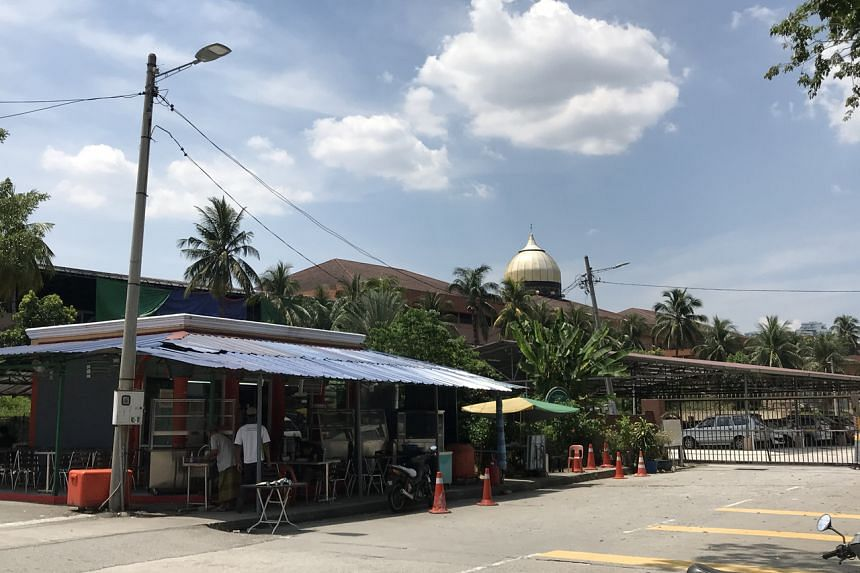 The deceased is a 50-year-old Malaysian who had attended an Islamic gathering at Masjid Jamek Sri Petaling (above) near Kuala Lumpur.