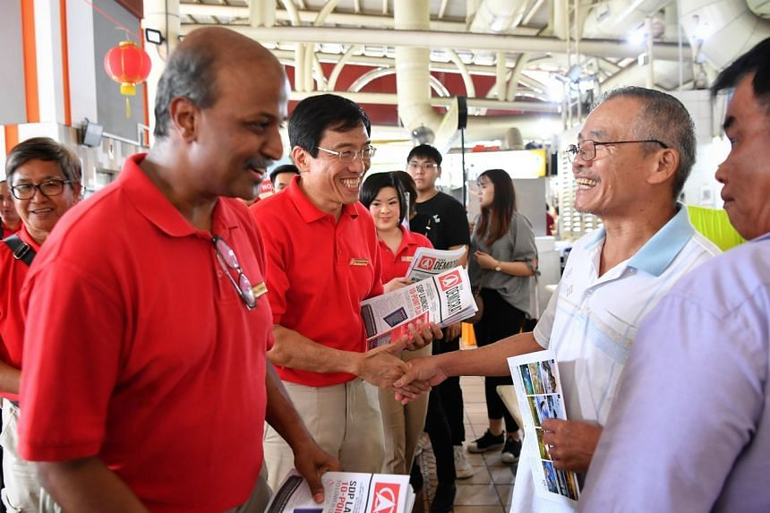 "Singapore Democratic Party chairman Paul Tambyah (left) said ""We think it is the height of irresponsibility to conduct an election at a time like this."""