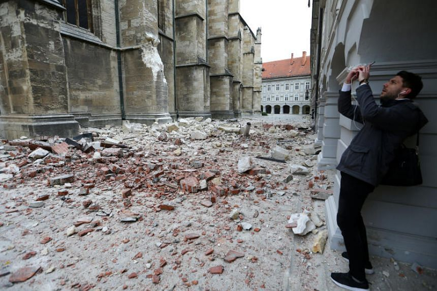 Croatian capital hit by 'most powerful natural disaster in 140 years'