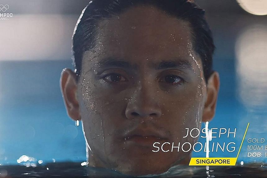Clockwise from left: Watch how Joseph Schooling stunned the world on that fateful August night in 2016, Saiyidah Aisyah pushing through the pain barrier to reach the Rio Games and Singapore hosting the inaugural Youth Olympics.