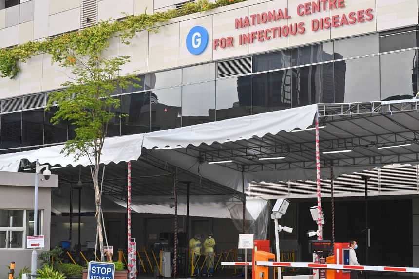 The National Centre for Infectious Diseases at Tan Tock Seng Hospital. The Ministry of Health announced 49 new Covid-19 cases on March 24, 2020.