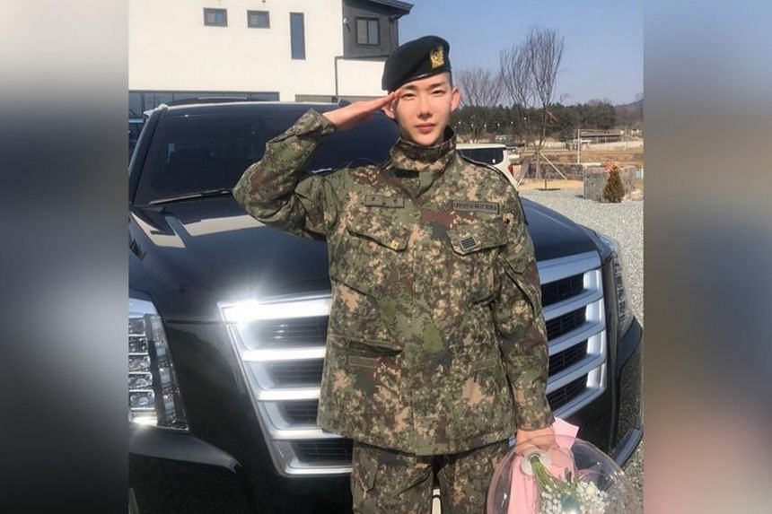 South Korean singer Jo Kwon had enlisted in South Korea's mandatory military service from August 2018 to March 24, 2020.