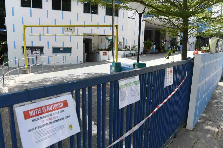 As the risk to the community remains high, the Fatwa Committee has recommended the continued closure of mosques until further notice.