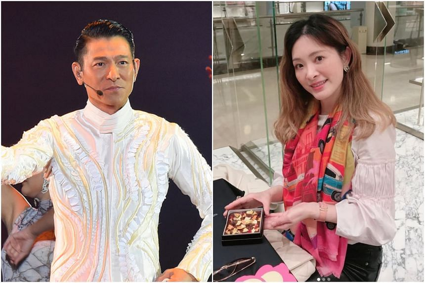Veteran Hong Kong singer Andy Lau (left) joined a list of celebrities in the Chinese-language entertainment industry who paid tributes to Serena Liu (right), who died at age 44 on March 22, 2020.