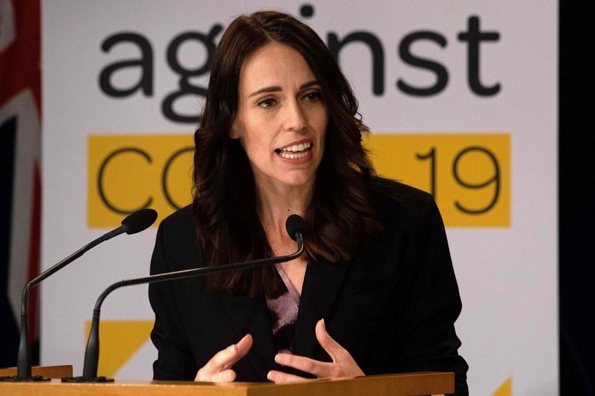 New Zealand's Prime Minister Jacinda Ardern told Parliament the four-week lockdown was triggered by early evidence of community transmission of Covid-19.