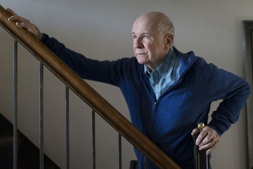 A 2014 photo shows Terrence McNally at his home in New York.