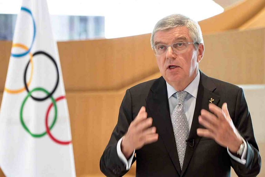 """International Olympic Committee President Thomas Bach admitted that cancelling the Tokyo Games was """"discussed and considered""""."""