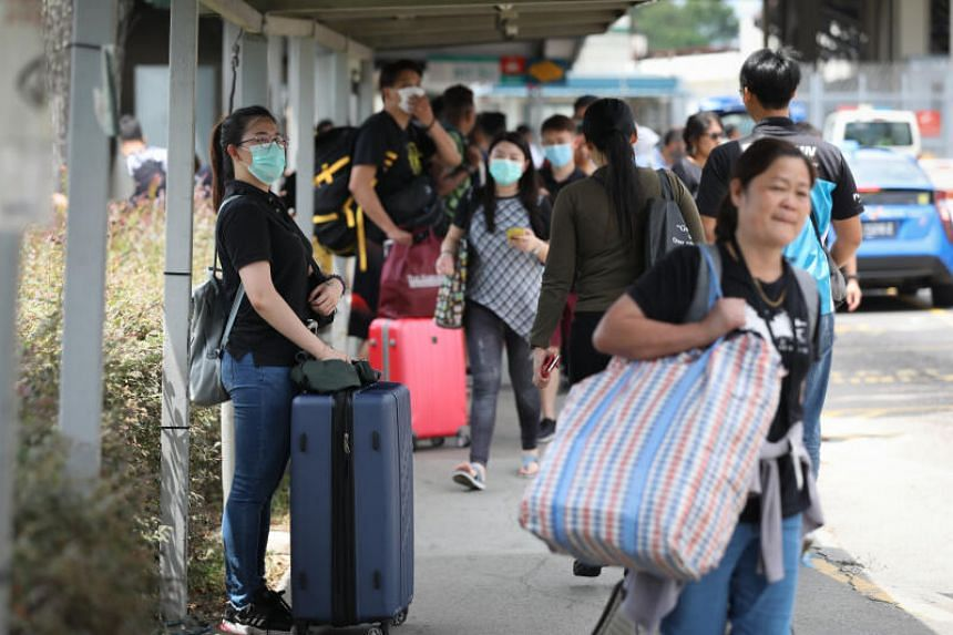 The Ministry also said that work-pass holders planning to enter Singapore from Malaysia must first obtain approval before they begin their journeys.