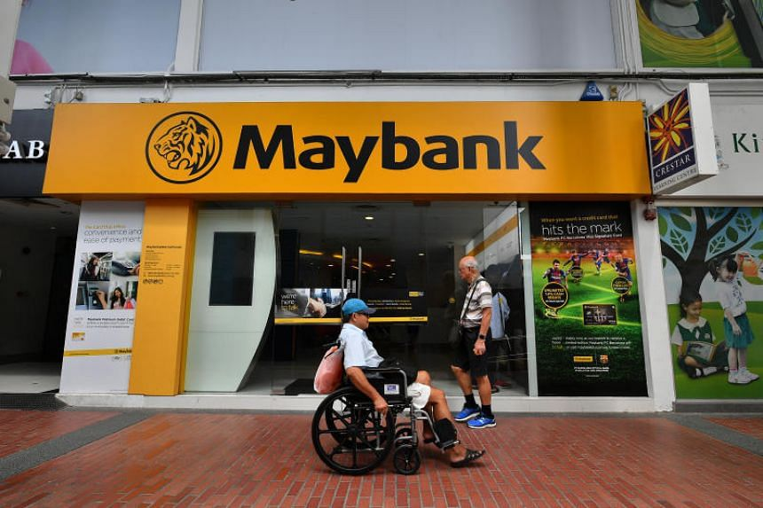"""A photo of Maybank's branch at Block 87 Marine Parade Central on Jan 17, 2019.  Malaysian customers may visit any Maybank branch to remit funds without a transfer fee to any Malaysian bank account at """"attractive"""" exchange rates."""
