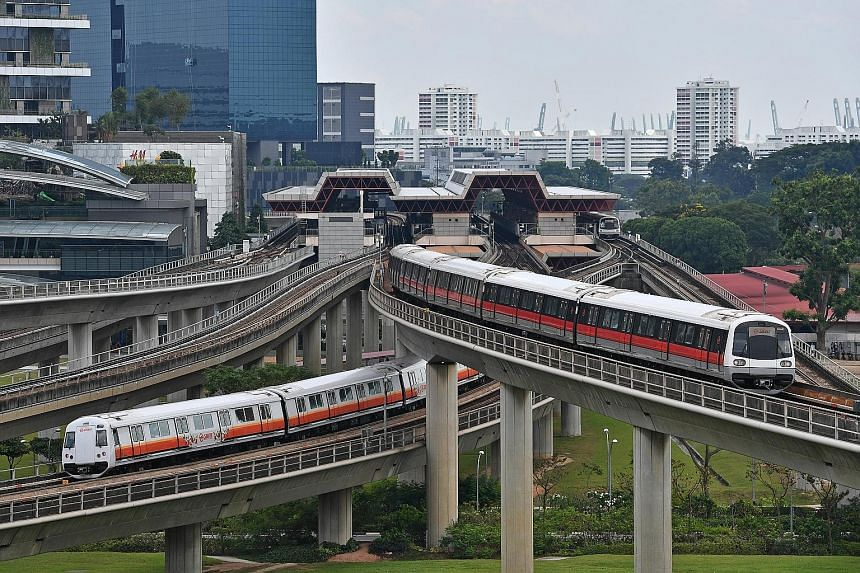 In May and June, Jurong East (above), Bukit Batok and Bukit Gombak stations on the North-South Line (NSL) will close at 11pm on selected Fridays and Saturdays. Several other stations along the NSL and East-West Line will also close earlier during the
