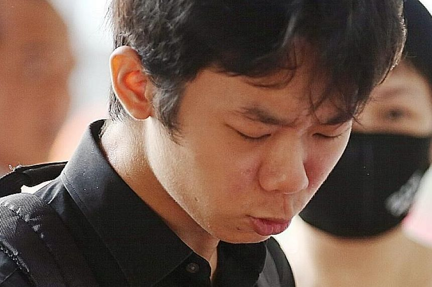 Rayson Chee Rui Sheng, who pleaded guilty to insulting a woman's modesty, will be sentenced on April 22.