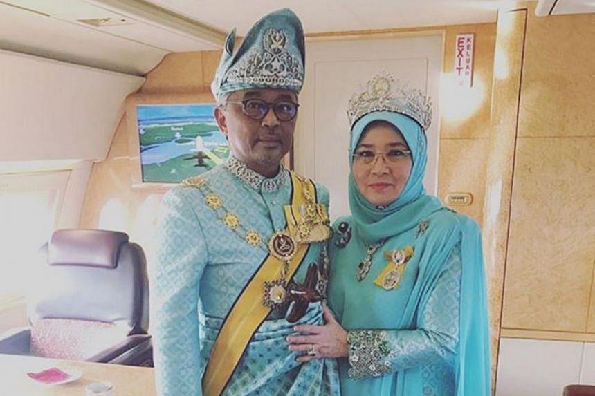 Sultan Abdullah Ri'ayatuddin and his wife Tuanku Azizah Aminah Maimunah Iskandariah have tested negative for the virus.