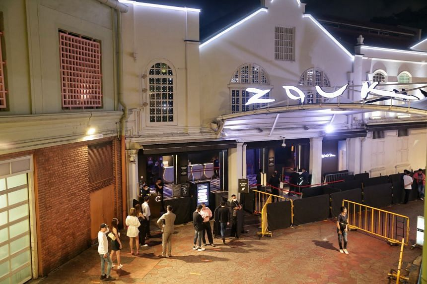 Club-goers did not have to wait long to enter popular nightclubs like Zouk last night. Some other clubs had promotions of 'farewell parties' before the mandatory closures.