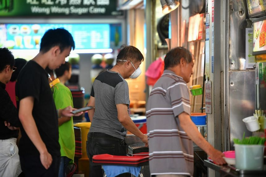 Firms in the food services sector, including hawker stalls, will receive higher support, at 50 per cent of wages.