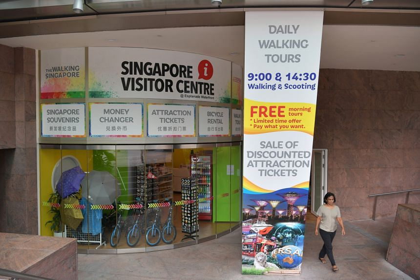 """The tourism and aviation sectors have been hardest hit, as international visitor arrivals to Singapore """"have nearly ground to a halt"""", Mr Heng said."""
