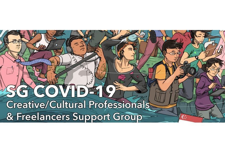 The SG Covid-19 Creative/Cultural Professionals & Freelancers Support Group on Facebook lets freelancers post tips and job listings and provide other types of support to their counterparts.