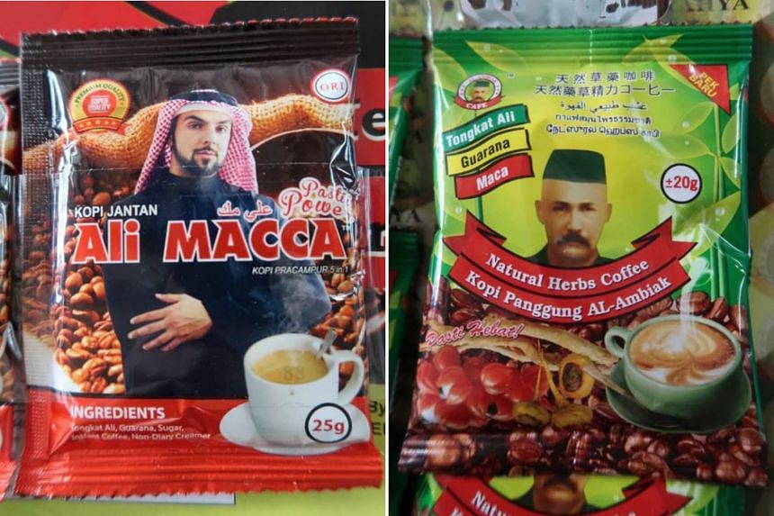 The Health Sciences Authority says two products, Kopi Jantan Ali Macca and Kopi Panggung Al-Ambiak, are among three items that pose serious health risks and that the public should stop buying or taking them.