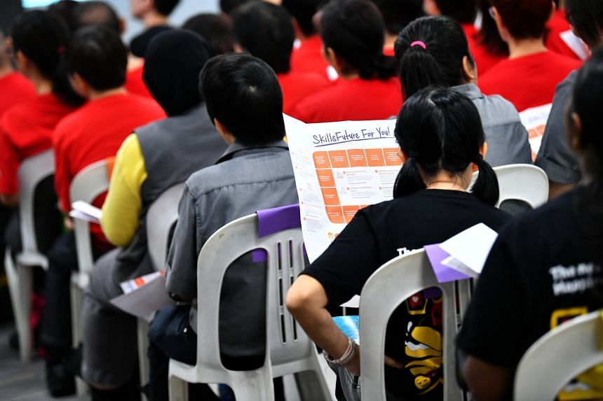 Singaporeans will now be able to make early use of the SkillsFuture Credit top-up for selected courses from April 1.