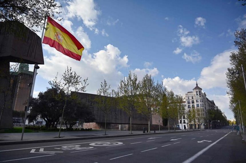 Confirmed cases in Spain have jumped 10-fold since the state of emergency was imposed on March 14, 2020.