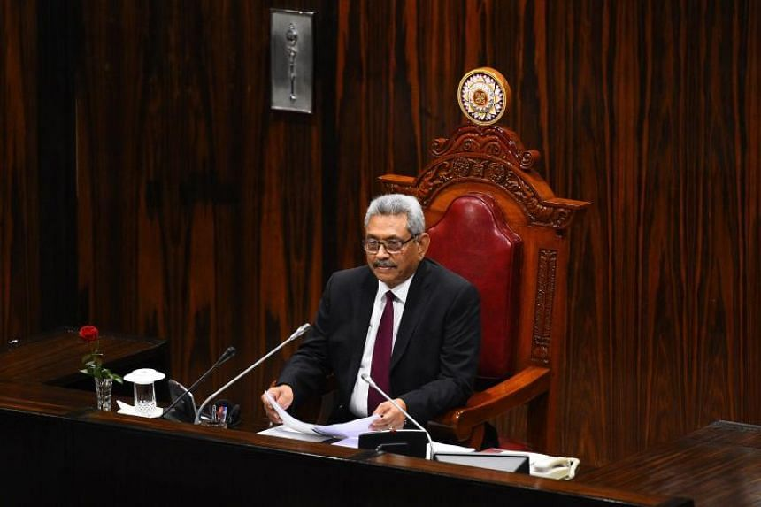 Sri Lankan President Gotabaya Rajapaksa pardoned and released an army officer on death row for slitting the throats of Tamil civilians during the island's bloody civil war.