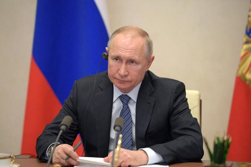 Russian President Vladimir Putin earlier unveiled new measures designed to slow the transmission of the virus.