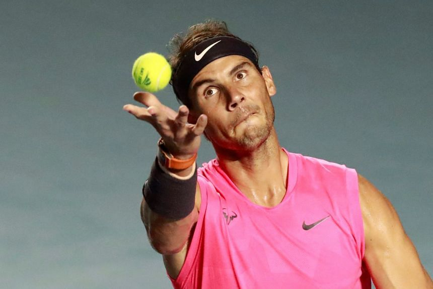 Nadal (above) wants to help vulnerable families in Spain affected by the virus.
