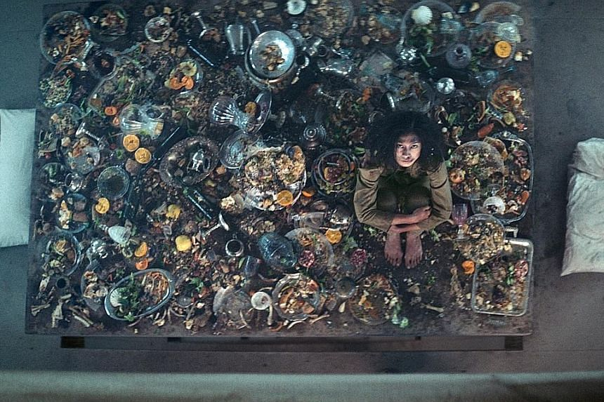"""This Spanish-language science-fiction thriller (above, starring Alexandra Masangkay) has a premise that comes from the """"concepts dreamed up by over-stimulated first-year students late one night in a dorm room"""" book."""