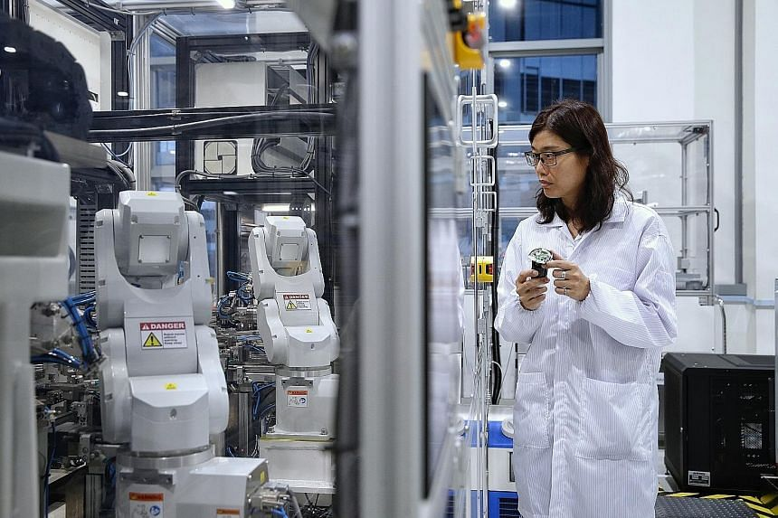 The key electronics sector, which accounts for over a quarter of total production, fell 17.3 per cent last month, deepening the 6.1 per cent drop in January. Semiconductor output was worst hit, sinking 18.7 per cent, while computer peripherals and da