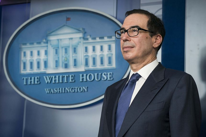 Mr Mnuchin said the US$2 trillion (S$2.9 trillion) aid package will provide assistance to laid-off workers through unemployment insurance and cash sent directly to families.