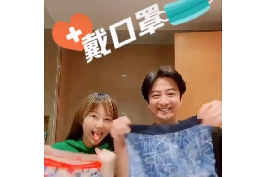 SINGER WANTS TO TURN UNDERWEAR INTO FACE MASKS: What do you do if you run out of face masks during the coronavirus pandemic? For Hong Kong singer Eric Suen, he decided to use his boxer briefs and turn them into makeshift face masks. On Wednesday, the