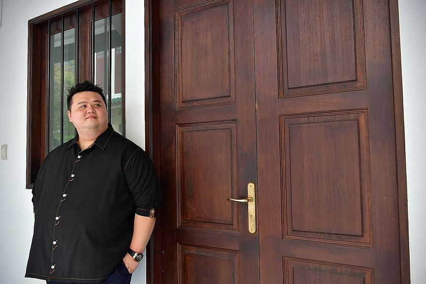 Chef Jason Tan says with his own restaurant, he can exercise his creativity and put what he has learnt on plates for diners.