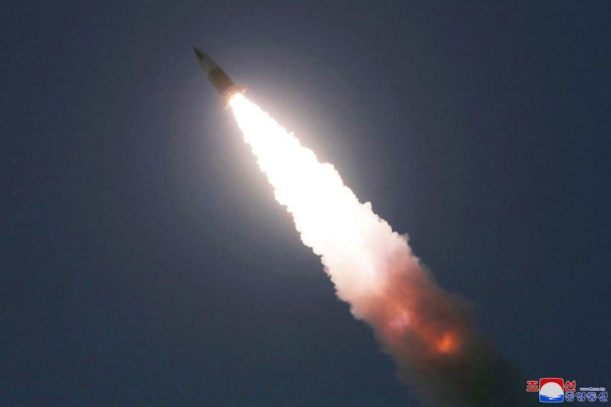 N Korea launches ballistic missiles into ocean