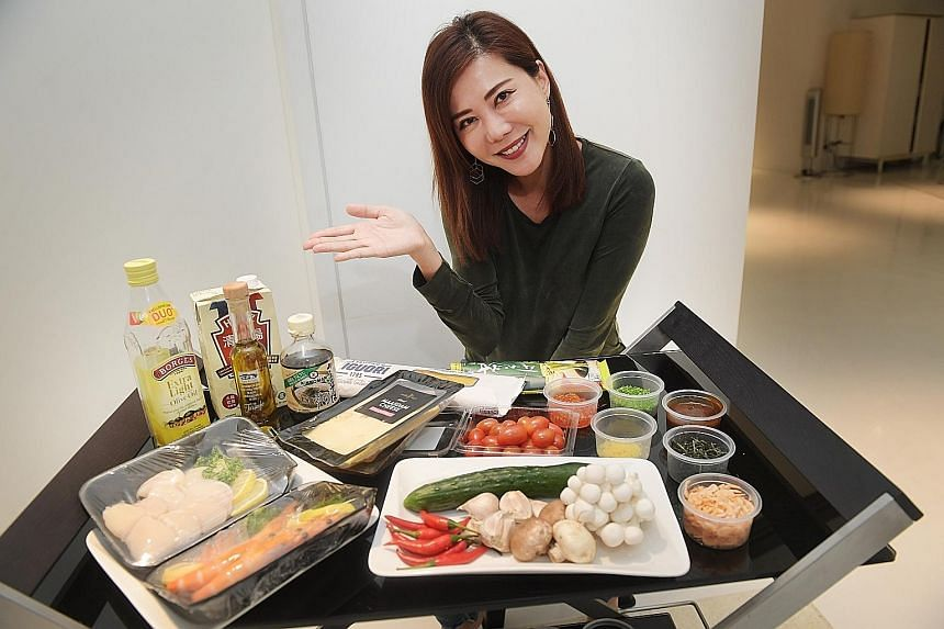 Actress Constance Song cooks mostly quick, basic dishes for herself and sometimes her mother.