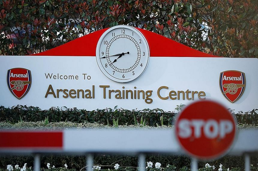 English Premier League clubs like Arsenal have closed their training centres and the footballers, who were training at home, could be taking a virus-enforced break soon.