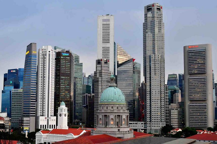 Singapore' economy is forecast to shrink by 1.0 to 4.0 per cent this year.