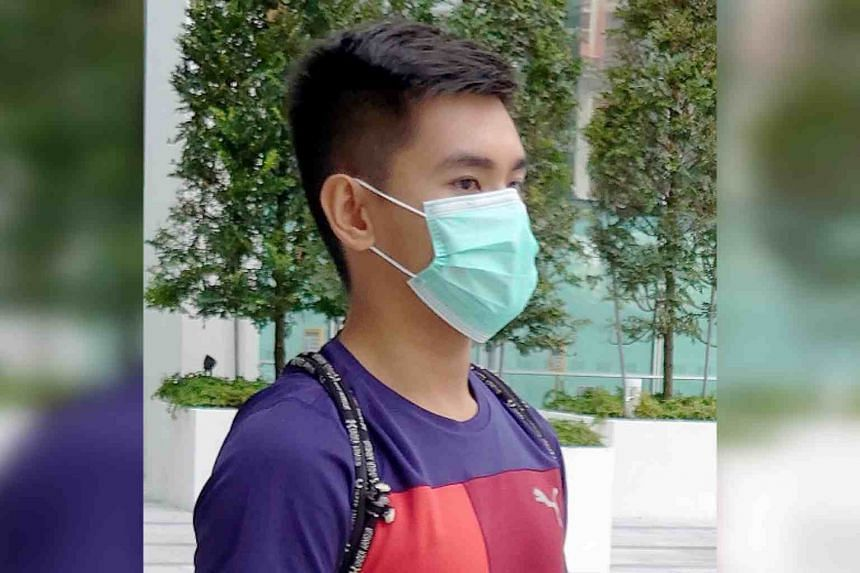 Zachary Lim Yong Hao was sentenced to 21 months' probation.